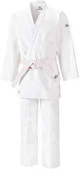 judogi de entrenamiento mizuno