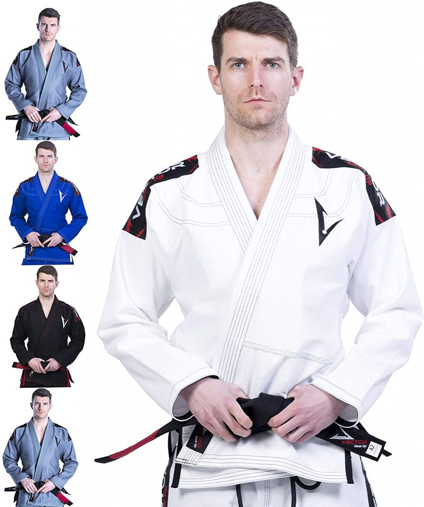 Judogi para entrenamientos VECTOR ATTILA BLANCO