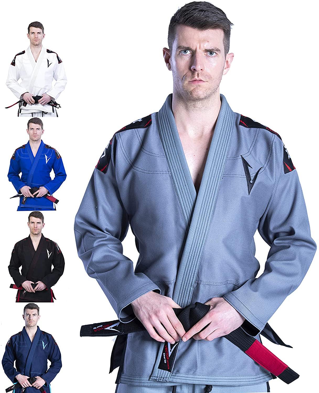 Judogi para entrenamientos VECTOR ATTILA GRIS