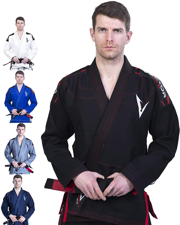 Judogi para entrenamientos VECTOR ATTILA NEGRO