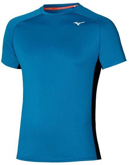 camiseta Mizuno ropa técnica de judo azul