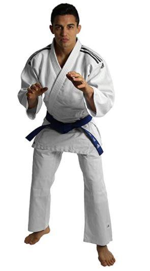 judogio o uniforme de artes marciales adidas unisex